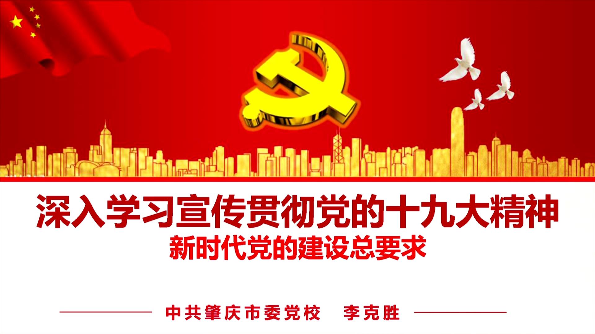 《深入学习宣传贯彻党的十九大精神》